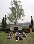 Památník vKrupce, foto: Jaroslav Smrž