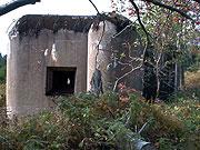 Ein Bunker der tschechoslowakischen Grenzbefestigung