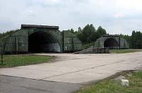 Gelände des ehemaligen Militärflugplatzes in Ralsko