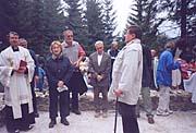 Vaclav Sklenar begrüßt die Gäste