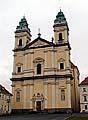 Die Mariä Himmelfahrt-Kirche in Valtice