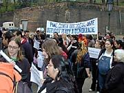 Demonstration der Roma-Minderheit (Foto: Jana Sustova)