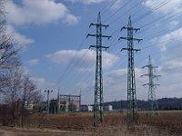Elektrické vedení (Foto: Miloš Turek)