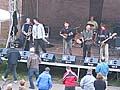 Vystoupení Pohřební kapely na festivalu Barevný podzim 6. října 2007