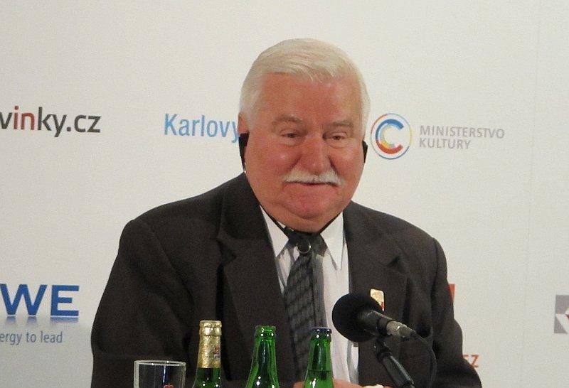 Лех Валенса: такой человек может появиться и в России (Фото: Кристина Макова, Чешское радио - Радио Прага)