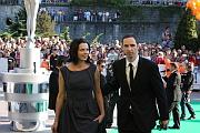 Jan P. Muchow con su esposa