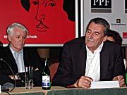 Martin Huba (rechts)