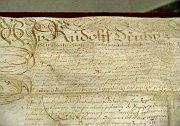 Majestätsbrief von Kaiser Rudolf II.