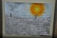 Výtvarná práce ze soutěže Mít své místo (Foto: Jana Šustová)