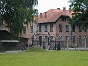 Brána do Osvětimi (Foto: Jana Šustová)