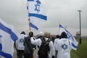 Izraelští studenti v Osvětimi (Foto: Jana Šustová)
