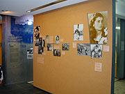 Exhibition on Roma Holocaust in Auschwitz (Photo: Jana Sustova)