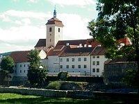 El castillo de Strakonice