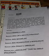 Katalog knih z Živé knihovny otevřený na stránce o knize s titulem Rom