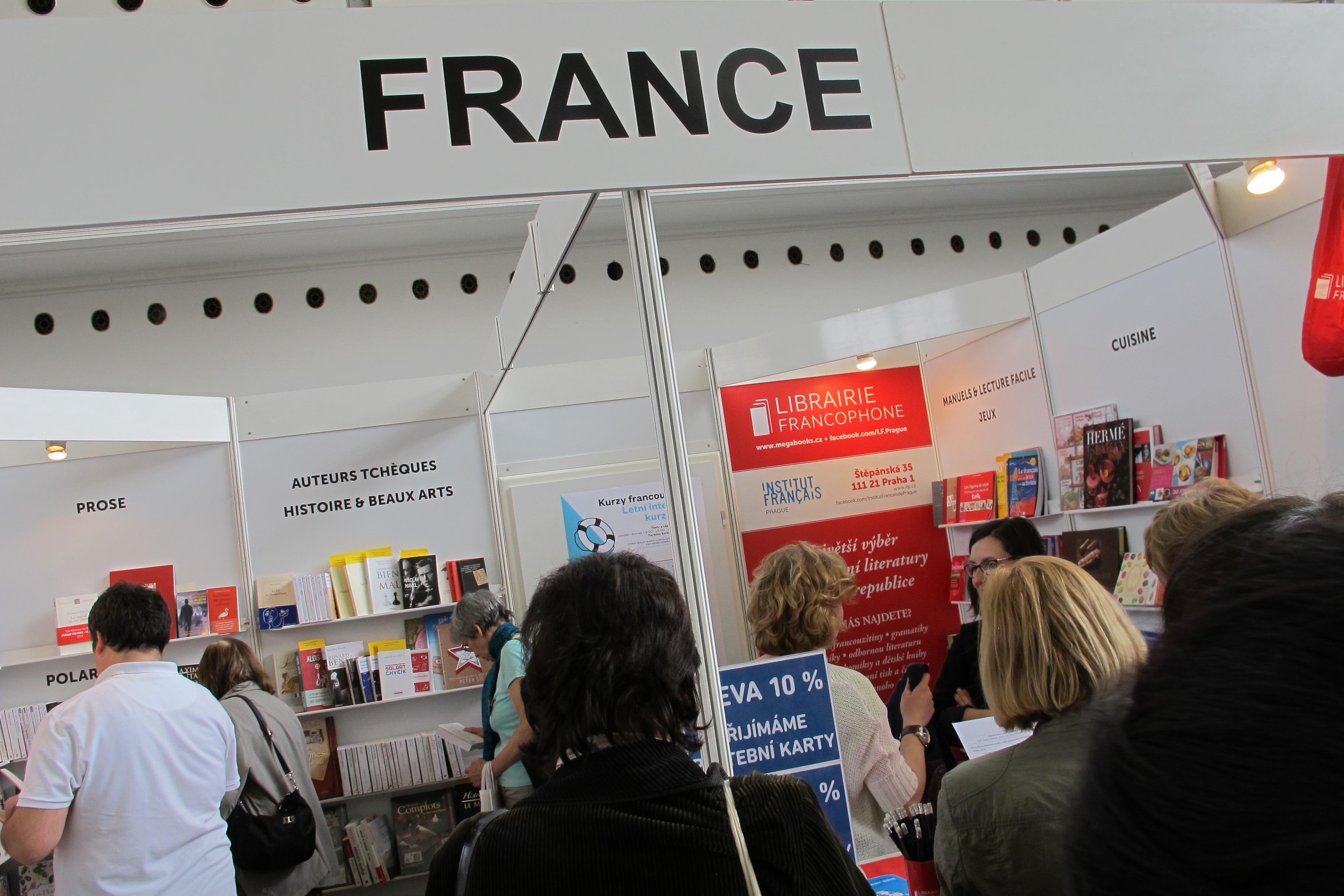 La france au salon le monde du livre radio prague for Salon du livre france