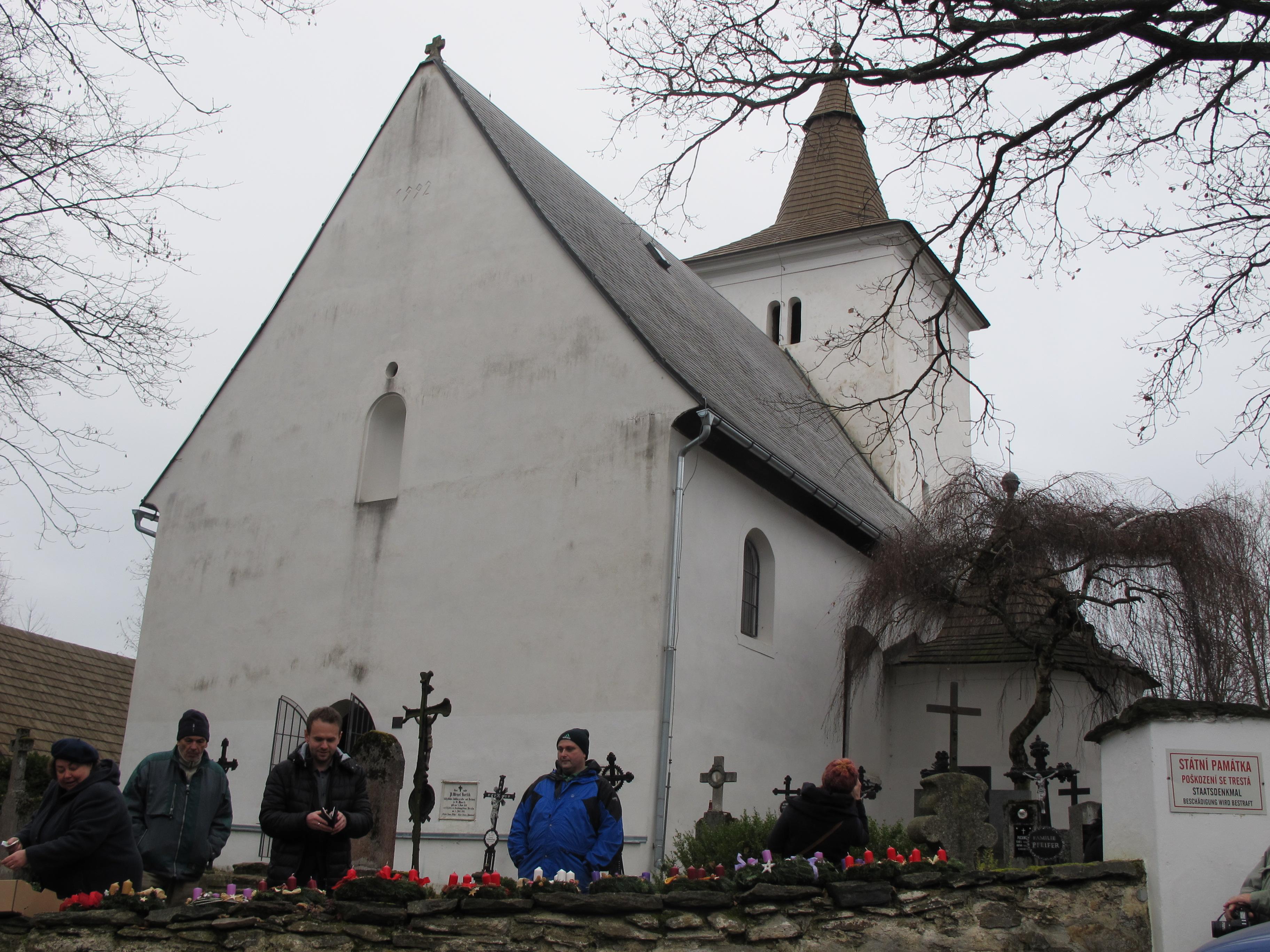 Kirche Sankt Maurenzen (Foto: Martina Schneibergová)