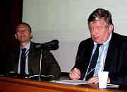 Miroslav Krupička a Milan Kocourek