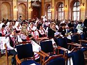 Slavnostní zahájení v Rytířském sále Senátu