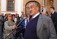 Karel Schwarzenberg, photo: archive of Ro 7 - Radio Prague