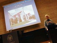 Ředitelka Českého a slovenského muzea v Cedar Rapids Gail Naughton