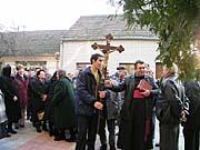 Krajané se sešli při posvěcení kostela vKruščici, foto: Autorka