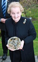 Madeleine Albright, photo: Barbora Kmentová/ Czech Radio 7 - Radio Prague