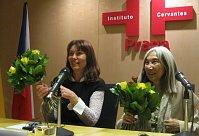 Markéta Mališová y María Kodama