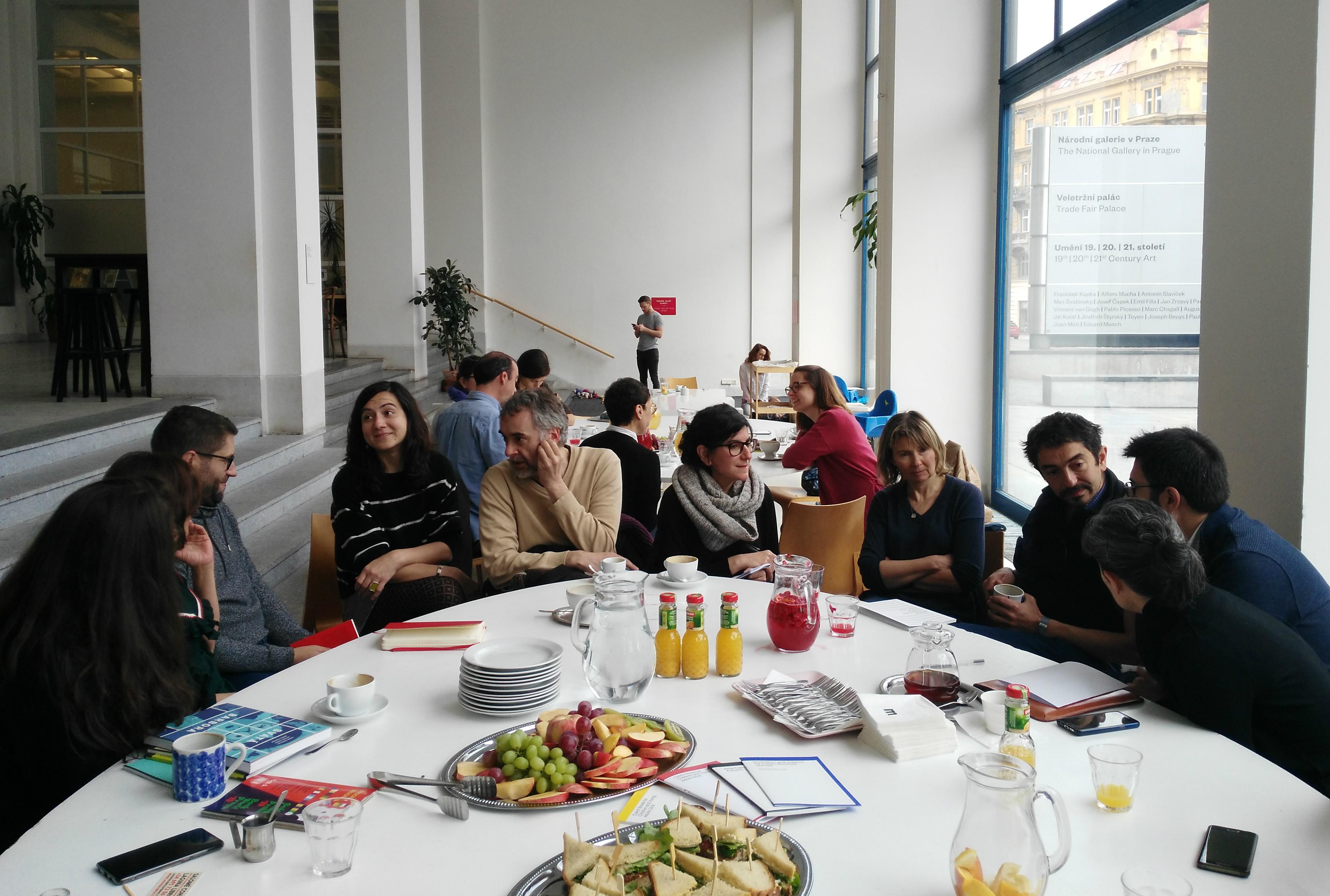 Encuentro literario, foto: Enrique Molina