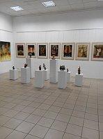 Pinturas y plásticas de Martha Jiménez Pérez, foto: Dominika Bernáthová