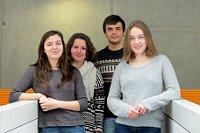 Les membres de l'association Cultures et identités européennes à Prague, photo: Kristýna Maková