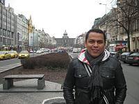 Renzo Madrid en Praga