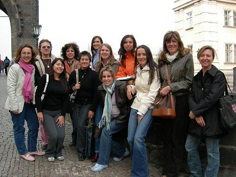 Un poco de sol Mujeres de Praga, un grupo hispano en pleno corazón de