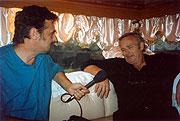 Simon Evans (left) and Bill Lee
