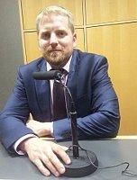 Вит Едличка в гостях на «Радио Прага» (Фото: Кирилл Щелков, Чешское радио - Радио Прага)