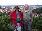 Helga und Ulrich Heinemann in Prag