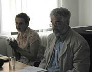 Eva Holubová und Leo Pavlát (Foto: Autorin)