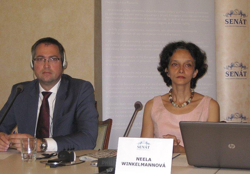 Konrad Menz und Neela Winkelmann (Foto: Martina Schneibergová)