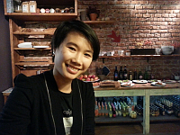 Mimi Lan Nguyen at one of her favourite eateries, photo: Ian Willoughby