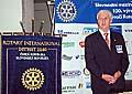Der Gouverneur des Tschechisch-Slowakischen Rotary Distrikts, Viktor Príkazský (Foto: Autorin)