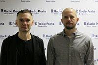 Аскольд Куров и Павел Лопарев (Фото: Кристина Макова, Чешское радио - Радио Прага)