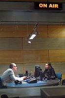Кирилл Щелков и Ирина Лагунина (Фото: Кристина Макова, Чешское радио - Радио Прага)