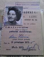 Lillian's postal worker ID