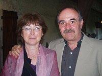 Jean-Pierre Plazas avec son épouse Marie-France Soulagnet