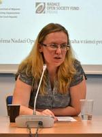 Elena Tulupová, photo: Evropská kontaktní skupina