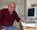 Profesor Rudolf Zahradník, foto: autor