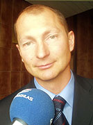 Landeshauptmann des Landkreises Pilsen, Petr Zimmermann (Foto: Zdenek Valis)
