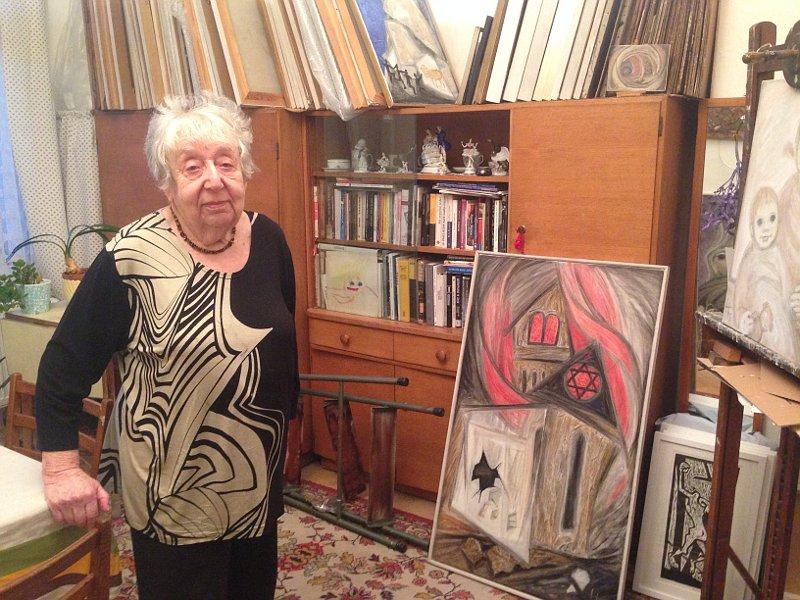Helga Weissová-Hošková (Foto: Annette Kraus)