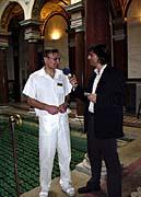 Chefarzt Pavel Knara mit Gerald Schubert