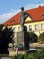 Emil Holub-Statue in Holice