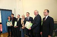 Detlef Lingemann (2. von rechts). Foto: Romy Ebert